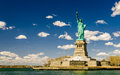 The statue of liberty new york usa america Stock Image