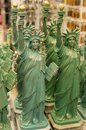 The statue of liberty souvenirs reproduction in a shop Stock Photo