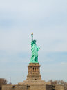 Statue of liberty view the famous Stock Photography