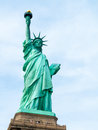 Statue of liberty view the famous Royalty Free Stock Image