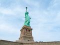 Statue of liberty view the famous Royalty Free Stock Images