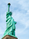 Statue of liberty view the famous Royalty Free Stock Photo
