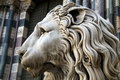 Statue of a lion Royalty Free Stock Photography