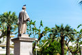 Statue Lord Brougham In Cannes