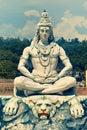 Statue of Lord Shiva in Rishikesh Royalty Free Stock Photo