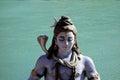 Statue of Meditating Lord Shiva Royalty Free Stock Photo