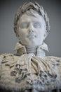 Statue Napoleon Bonaparte Louvre Paris, France Royalty Free Stock Photo