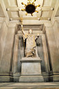 Statue of Napoleon inside Les Invalides Royalty Free Stock Photo