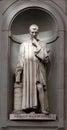Statue Niccolò Machiavelli, Uffizi, Florence, Italy Royalty Free Stock Photo