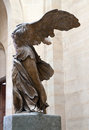 Statue of Nike in Louvre museum Royalty Free Stock Image