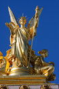 Statue on the opera garnier in paris france this statue was created more than years ago no property release is required Royalty Free Stock Image