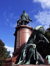 Statue of the otto von bismark prussian statesman Stock Photo