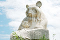 Statue of panda Royalty Free Stock Images