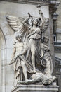Statue on the Paris Opera Royalty Free Stock Photo