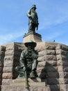 STATUE PAUL KRUGER MONUMENT, PRETORIA, SOUTH AFRICA