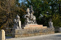 Statue of the polish king John III Sobieski, Warsaw, Poland Royalty Free Stock Photo