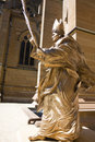 Statue of Pope John Paul the Great Royalty Free Stock Photo