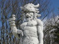 The Statue of Radegast - Pustevny Royalty Free Stock Image