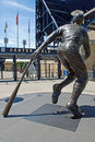Statue of Roberto Clemente Stock Photo