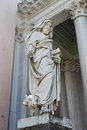 Statue rome san paolo italy Stock Images