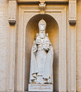 Statue of S. Gregorius Armeniae Illuminator in the Vatican museu Royalty Free Stock Photo