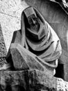 Statue at Sagrada Familia Royalty Free Stock Photo