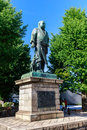 Statue of saigo takamori ueno park japan bronze to in on sunny day Stock Photos