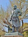 Statue of saigo takamori at ueno park japan tokyo april in tokyo was born in january during edo period he is known as the Royalty Free Stock Photography