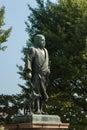 Statue of saigo takamori in ueno park tokyo japan Stock Image