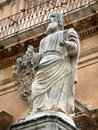 Statue of a Saint Royalty Free Stock Images