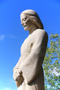 Statue in Saint Joseph's Oratory of Mount Royal Royalty Free Stock Photo