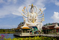Statue of Shiva , Thailand Royalty Free Stock Photos