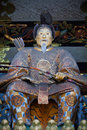 Statue of Shogun Ieyasu Stock Photo