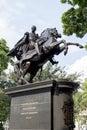 Statue simon bolivar Royalty Free Stock Photo