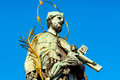 Statue Of St John Nepomuk On C...