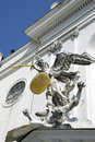 The statue of St. Michael in Vienna, Austria Royalty Free Stock Photo