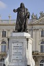 Statue of stanislas nancy france on the famouse place Stock Photos