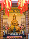 Statue in Thean Hou Temple at Kuala Lumpur Royalty Free Stock Photography