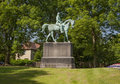 Statue to price albert of prince mounted on his horse nimrod Stock Photography