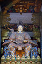 Statue of Tokugawa Ieyasu Royalty Free Stock Photo