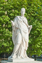 Statue In The Tuileries Stock Photography