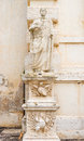 Statue at villa borghese museum in rome italy sculpture the entrance to Royalty Free Stock Photography