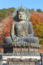 Statue von buddha in nationalpark seoraksan korea Stockbilder