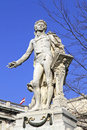 Statue of wolfgang amadeus mozart in vienna austria Royalty Free Stock Photography