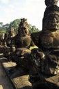 Statues- Angkor, Cambodia Stock Photo