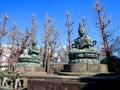 Statues of Buddha in Asakusa, Tokyo