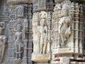 Statues of hindu god Royalty Free Stock Photo