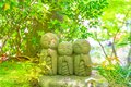 Statues of Jizo Royalty Free Stock Photo