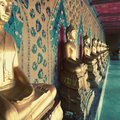 Statues of lord Buddha in thailand