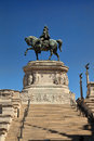 Statues in the Monument of Victor Emmanuel II, the museum comple Royalty Free Stock Photo